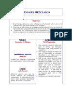 Comunicacion, mensajes mezclados.doc
