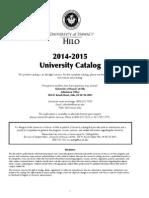 UHHCatalog_2014-15