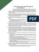 Legislação Tributária Municipal (ISS) - Lista de exercícios.pdf