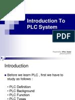 EJ501 T3 PLC Introduction