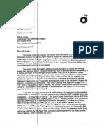 Mc Glad Ley Letter 1