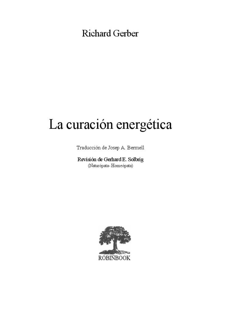 La Curacion Energetica, Richard Gerber