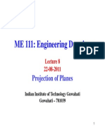 Lecture8 Projection of Planes