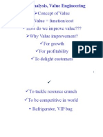 Value Analysis