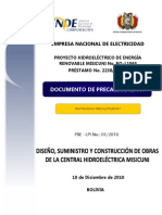Documento Precalificacion Obras Central HidroelctricaMisicuni 101210.pdf