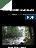 English Intensive Class