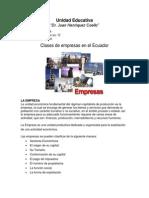 Clases de empresas en el Ecuador.docx
