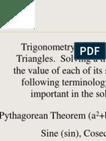 Trigonometry by eric zhao