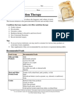 Low FiberNutritionTherapy1
