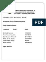 informe educacion romana.docx
