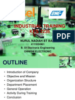 presentation industrial training