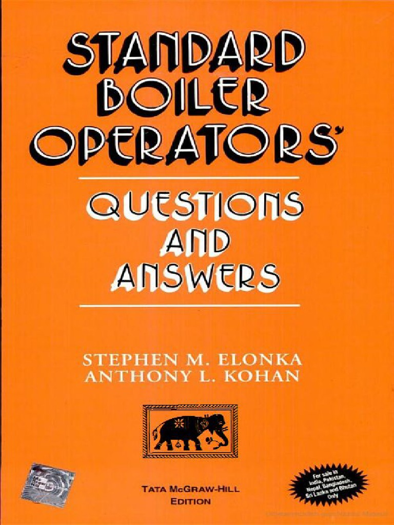 Standard Boiler Operators Questions And Answers