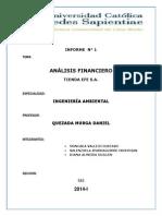 INFORME analisis financieros  TIENDAS EFE S.A.docx
