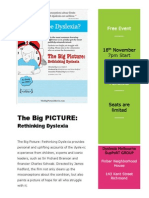 The Big Picture Flyer for Schools