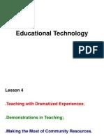 ed tech lesson 4 and 5  mj tan