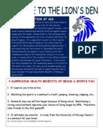 October Athletics Newsletter