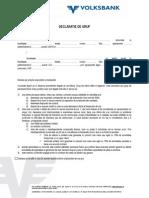 Anexa 2.2 - Declaratie de Grup