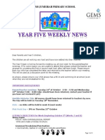 t1 y5 weekly newsletter 16th october 2014