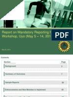 Presentation on SAP Reporting Workshop - Final