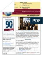 """The F63 Crown Courant"""" - Oct 2014 Newsletter for Area F63, District 44 Toastmasters"""