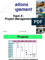 Topic 8- Project Management