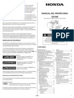 HONDA GX100 .pdf