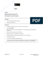 Business Calculations L2 Past Paper Series 4 2013