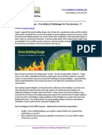 Green Building Design – Fire Safety & Challenges for Fire Services…!!!