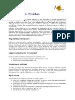 Investmen in Pak