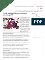 Nota de Prensa (La Crónica)