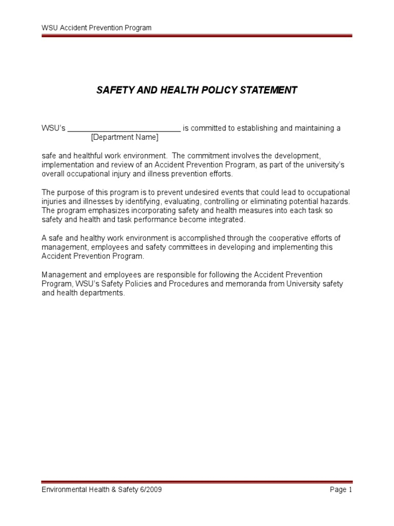 Wsu environmental health safety environmental health - Wsu Environmental Health Safety Environmental Health 4