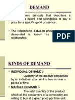 Economic Principle That Describes a Consumer's Desire and Willingness To