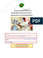 HSE Specification - Ionising Radiation SP 1237