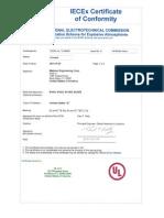 IECEx UL 13.0065X Issue 0(Intrinsic)
