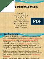 De Bureaucratization