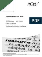 AQA-synoptic Essay Marking Guidelines