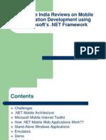 Synapse India Reviews on Mobile Application Dotnet Framework