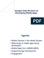 Synapse India Reviews on Supporting Mobile Applications