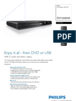 Philips DVD Player With USB