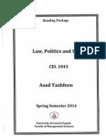 Law Politics and Society Asad Tashfeen