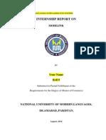 Internship Report  on Mobilink Jazz