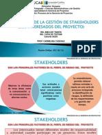 GESTION DE LOS STAKEHOLDERS.ppsx