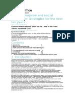 Social Enterprise Innovation