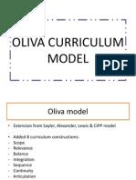 Oliva Curriculum Model