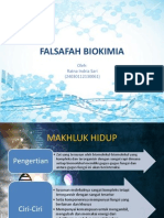 FALSAFAH BIOKIMIA