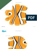 Disney Pixar Finding Nemo 3d Sf Printable 0712 FDCOM