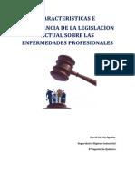 Caracteristicas e Importancia de la Legislacion Actual sobre Enfermedades Laborales.docx