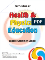 Curriculim Health & Physical Education LGS