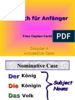 Accusative Learn German Aprender Aleman