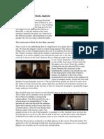 Silver Linings Playbook Trailer Analysis